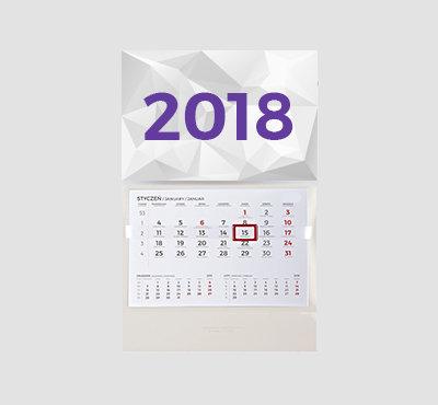 Kalendarz jednodzielny 31x47cm